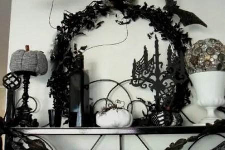 ideas for elegant black and white halloween 10 554x701