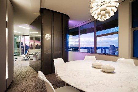 modern apartment glamour interior 2