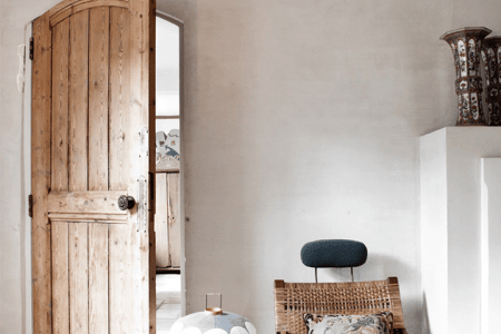 rustic and shabby chic house with lots of wood in decor 1