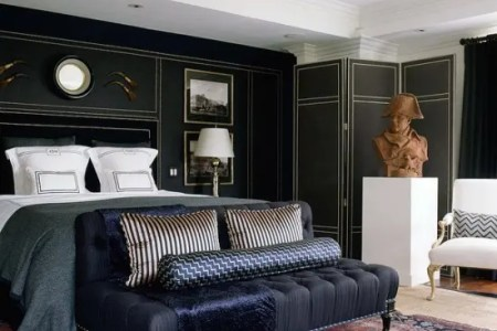 stylish and y masculine bedrooms 49