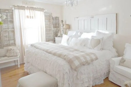 sweet shabby chic bedroom decor ideas 6