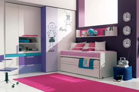 13 cool teenage girls bedroom ideas | digsdigs
