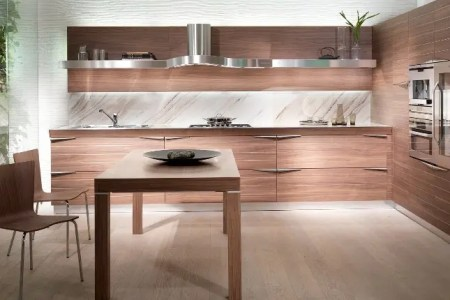time wooden kitchen