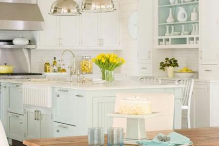traditional coastal style kitchen design 1