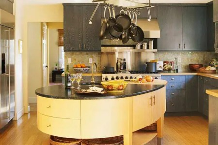 unique kitchen island designs 38