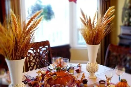 ways to use autumn leaves for home decor 17
