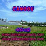 Tanah di Canggu Bali dijual 400 m2 di Canggu Brawa