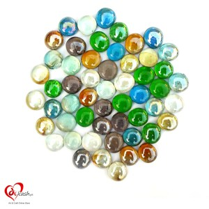 Decorative Pebbles Stones (Crystal Small Circle)