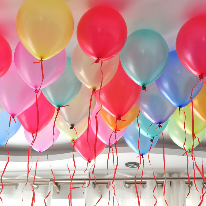 100 balloons for decoration