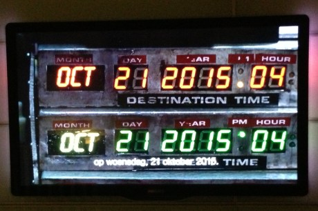 back to the future date