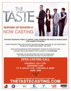 The Taste Casting