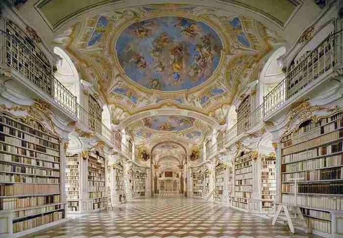 Βιβλιοθήκη Admont Abbey, Admont, Αυστρία