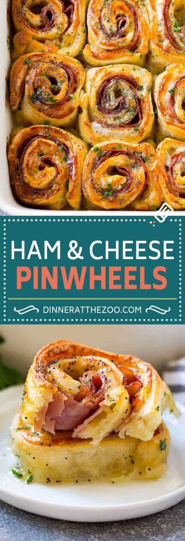 Medium Of Ham And Cheese Pinwheels