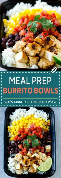 Mesmerizing One Meal Prep Burrito Bowls Ken Burrito Bowls Meal Prep Recipe Bowl Recipe Easy Easy Meal Prep Recipes Dinner At Zoo Easy Sunday Dinner Casserole Easy Sunday Dinner