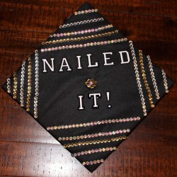 Relieving How To Decorate Your Grad Cap Church Hill Classics Grad Cap Ideas 2018 Grad Cap Ideas Flowers