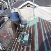粕壁東の現場は屋根の中塗りが終わりました