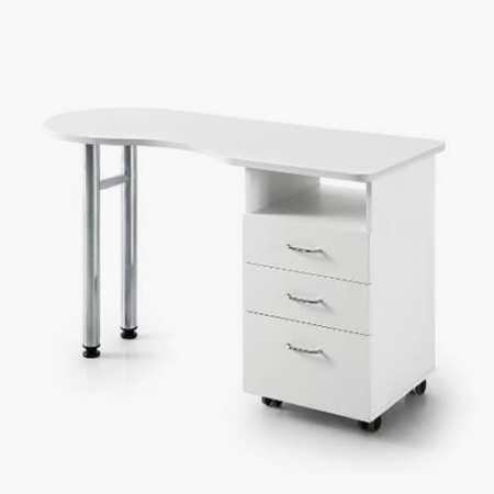 Vivian White Manicure Desk