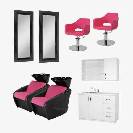 Buy salon furniture rem salon furniture direct salon for Hairdressing furniture packages
