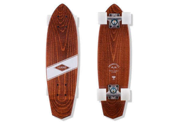 Almond x Shakastics Skateboard