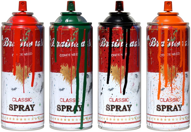 Mr. Brainwash Spray Can