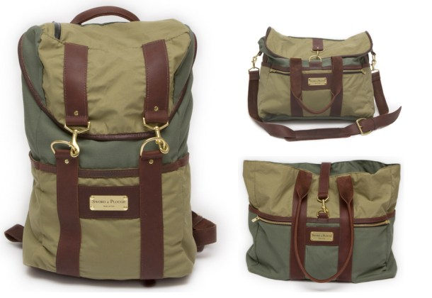 Sword &amp; Plough Bags