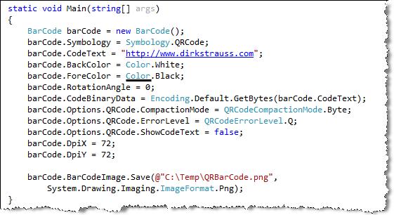 DevExpress Document Server QR Code Logic