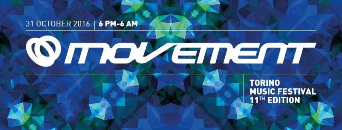 MOVEMENT TORINO MUSIC FESTIVAL 2016 31 10 2016