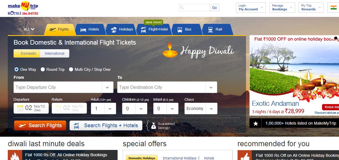 Domestic flight booking discount coupons