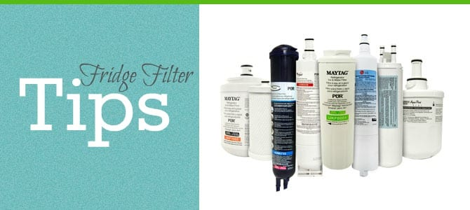 How to Change Your Refrigerator Water Filter