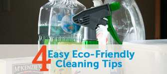 4 Easy Green Cleaning Tips