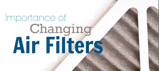 Importance of Changing Air Filters