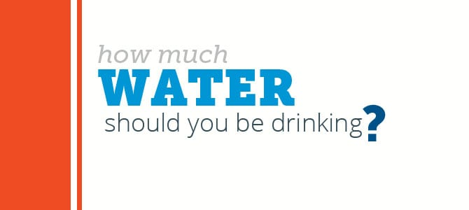 How Much Water Should You Be Drinking Daily?