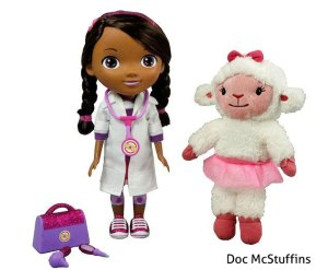 doc mcstuffins doll 300x247 Argentina FAIL: Doc McStuffins Now White