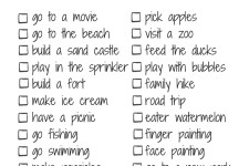 Summer Bucket List: When you have a baby and a preschooler