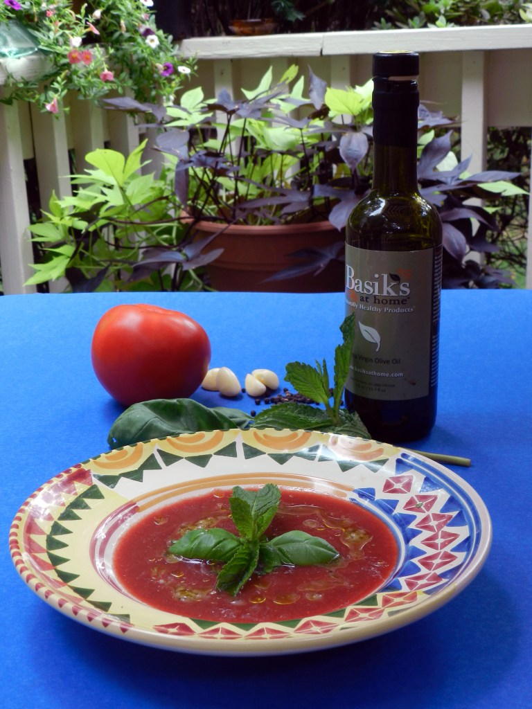 Chilled Tomato Soup With Aged Feta And Olives Recipes — Dishmaps