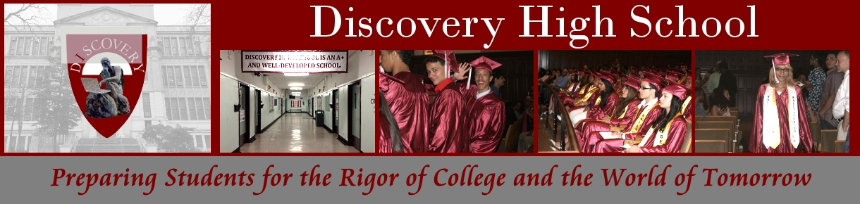 Discovery High School Header Image