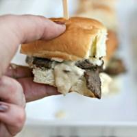 Philly Cheese Steak Sliders