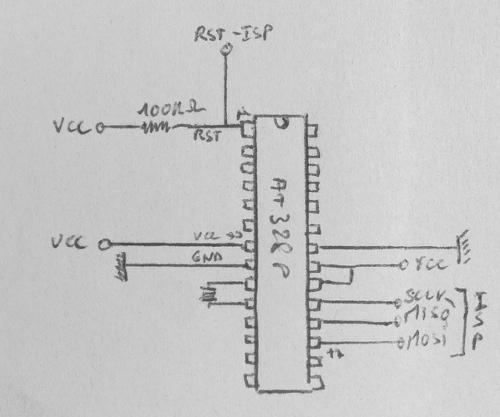 arduino atmega328p low power consumption