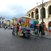 Live webcam Verona, Piazza Bra