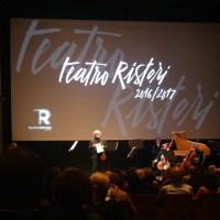 Teatro Ristori: anteprima stagione 2016/2017
