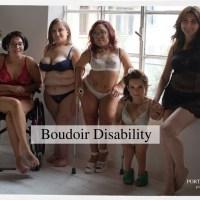 Boudoir Disability: la femminilità dell'intimo