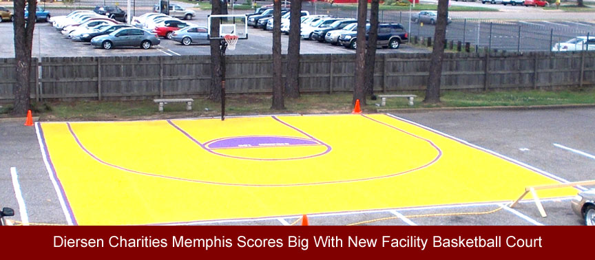 Memphis Scores Big With New Facility Basketball Court