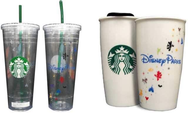 New Disney Parks Starbucks Merchandise Revealed