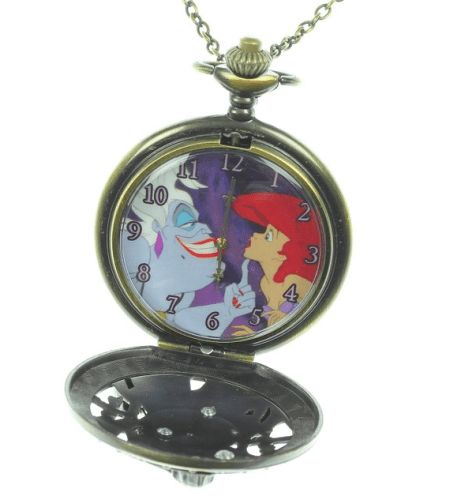 disney discovery the mermaid pocket necklace