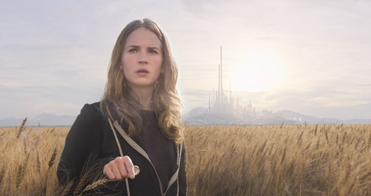 Disney's TOMORROWLAND..Casey (Britt Robertson) ..Ph: Film Frame..?Disney 2015