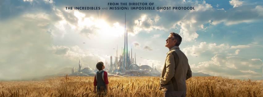 Tomorrowland Poster Field City