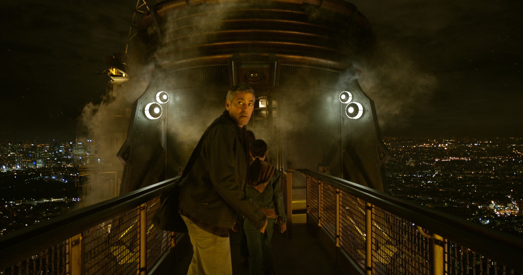 Disney's TOMORROWLAND..Frank Walker George Clooney)