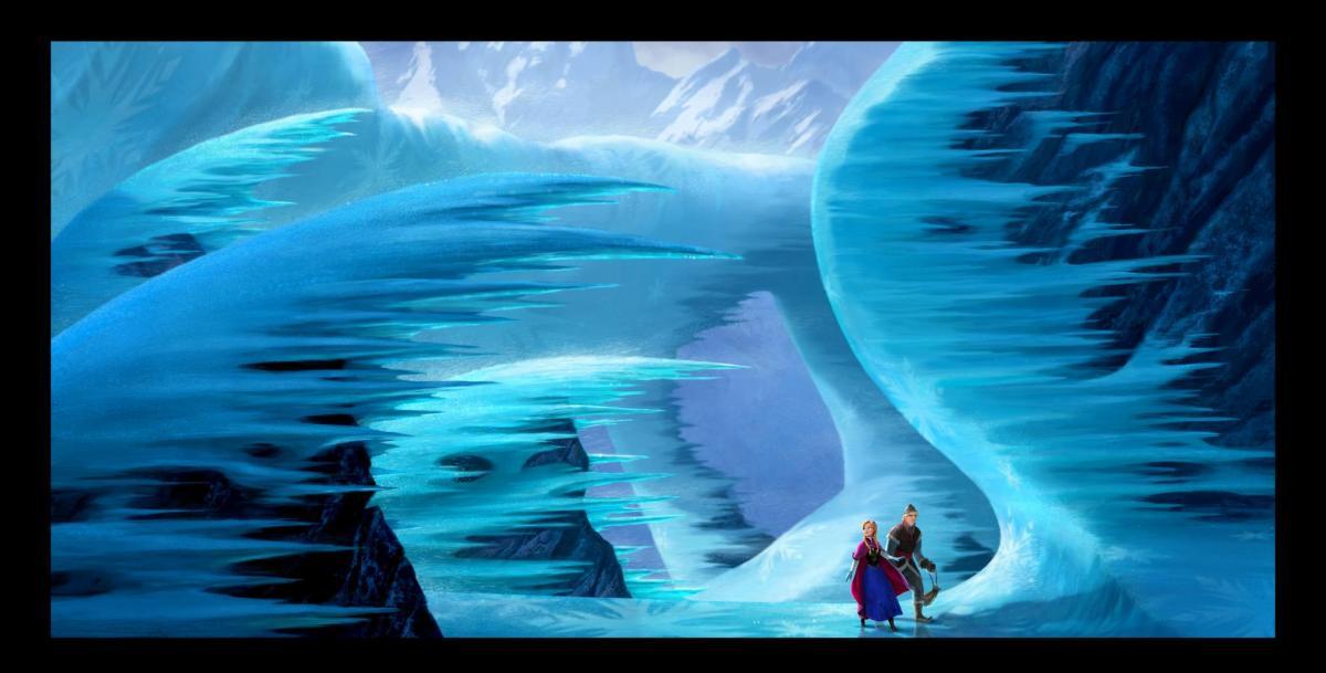 Escena de la Película de Frozen - old.disneylandiaaldia.com