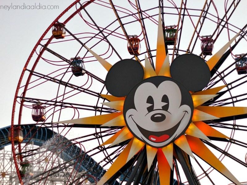 La rueda de la fortuna de Mickey - old.disneylandiaaldia.com