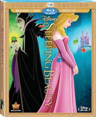 La Bella Durmiente portada del Blu-ray